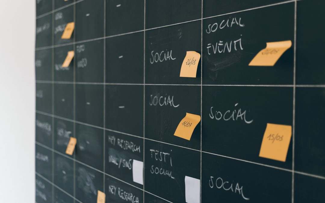 Plan Ahead to Win – Introduce a Social Media Editorial Calendar to your World